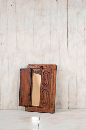 Wooden Window Mirror - Small No 258