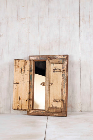 Load image into Gallery viewer, Wooden Window Mirror - Small No 268