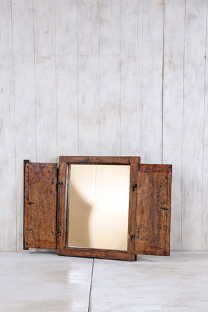 Load image into Gallery viewer, Wooden Window Mirror - Small No 269