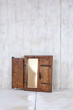 Wooden Window Mirror - Small No 269