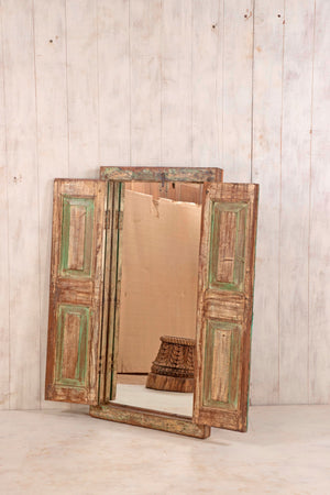 Wooden Window Mirror - Large No 26