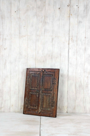 Wooden Window Mirror - Small No 273