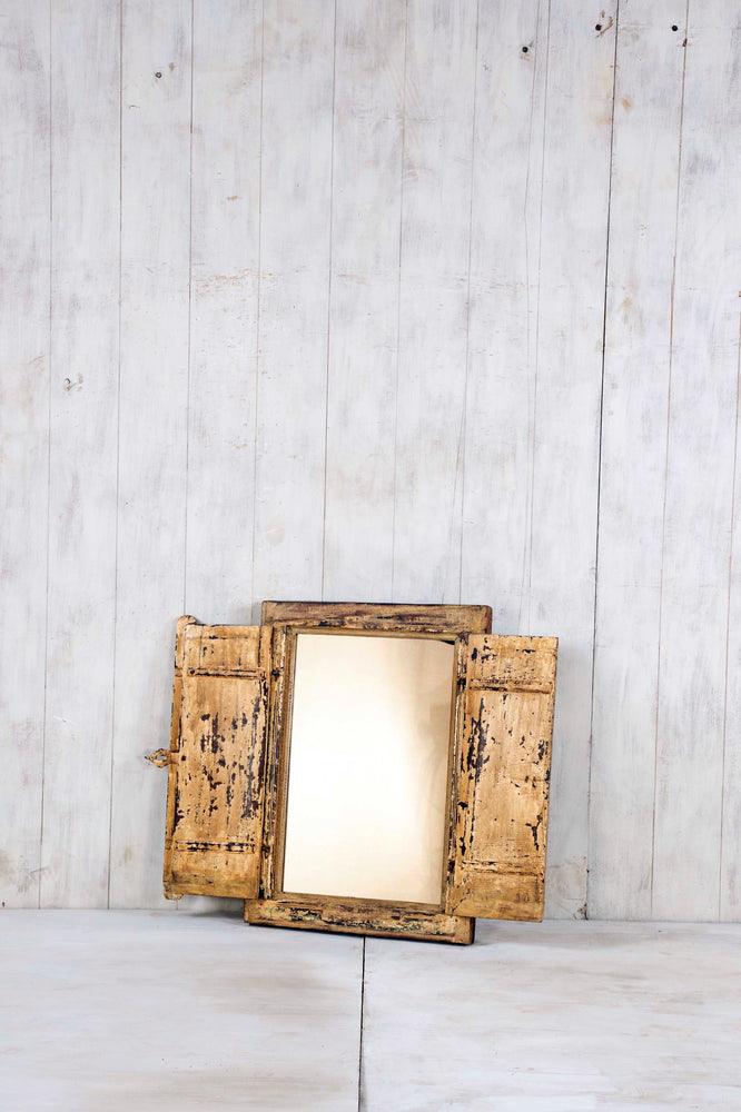 Load image into Gallery viewer, Wooden Window Mirror - Small No 277