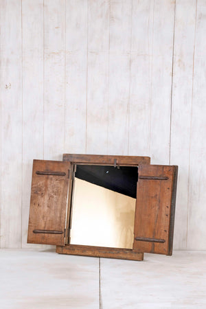 Load image into Gallery viewer, Wooden Window Mirror - Small No 281