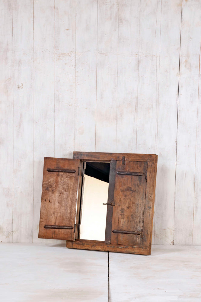 Wooden Window Mirror - Small No 281
