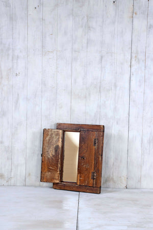Wooden Window Mirror - Small No 288