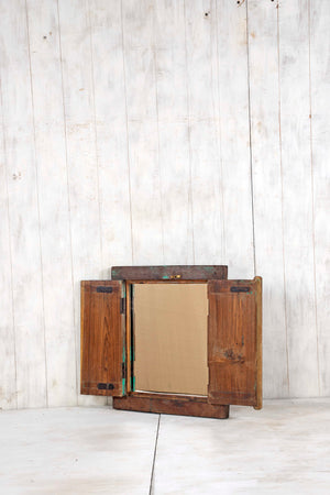 Load image into Gallery viewer, Wooden Window Mirror - Small No 291