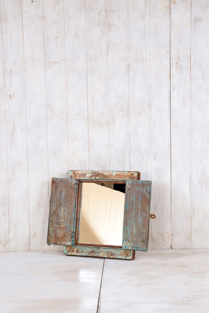Load image into Gallery viewer, Wooden Window Mirror - Small No 293