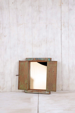 Wooden Window Mirror - Small No 296