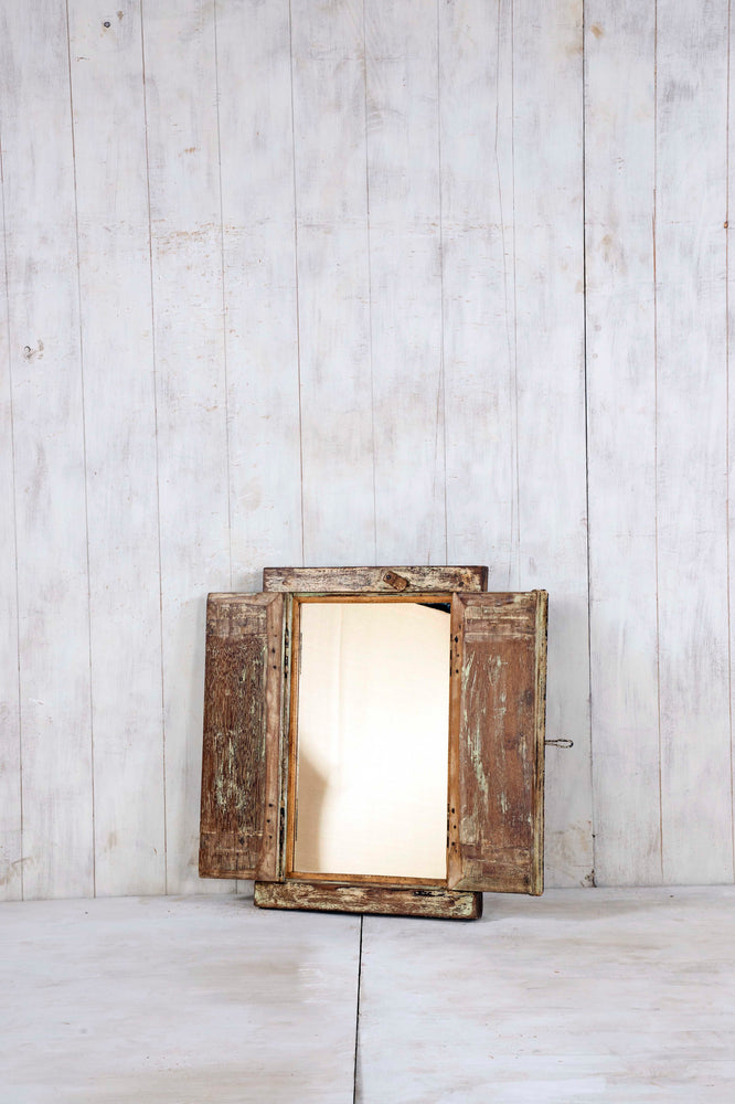 Wooden Window Mirror - Small No 297