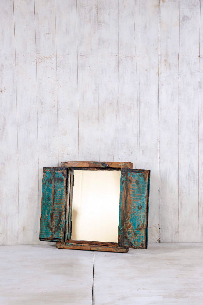 Wooden Window Mirror - Small No 301