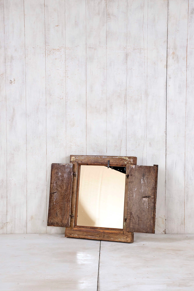 Wooden Window Mirror - Small No 305