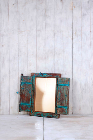 Load image into Gallery viewer, Wooden Window Mirror - Small No 321