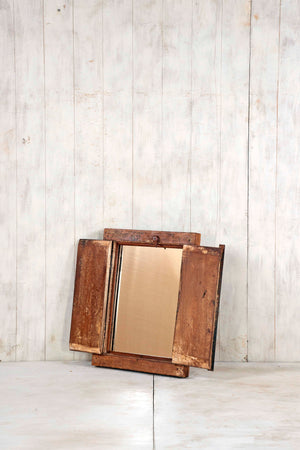 Load image into Gallery viewer, Wooden Window Mirror - Small No 325