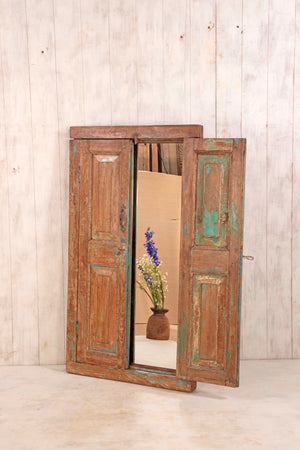 Wooden Window Mirror - Large No 32