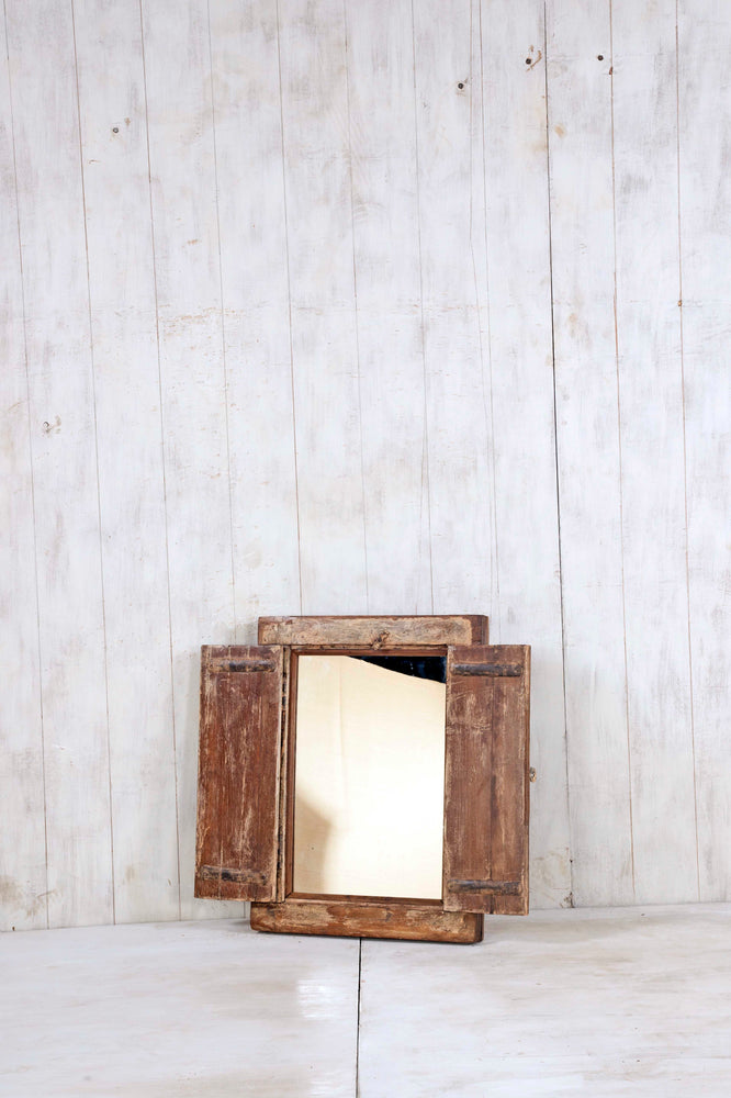 Wooden Window Mirror - Small No 334