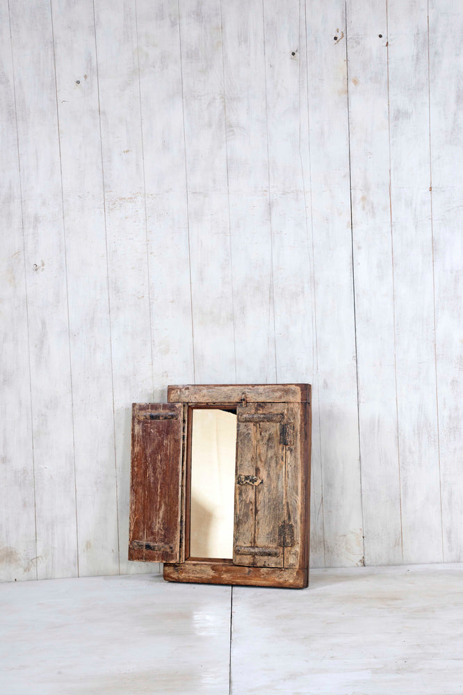 Load image into Gallery viewer, Wooden Window Mirror - Small No 334