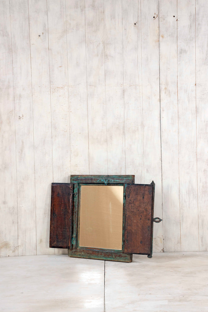 Load image into Gallery viewer, Wooden Window Mirror - Small No 336
