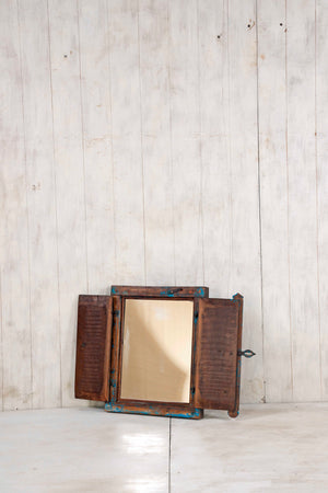 Wooden Window Mirror - Small No 340