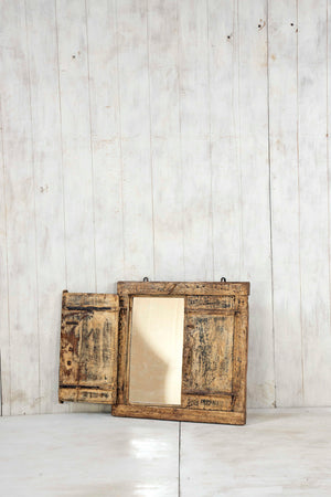 Wooden Window Mirror - Small No 341