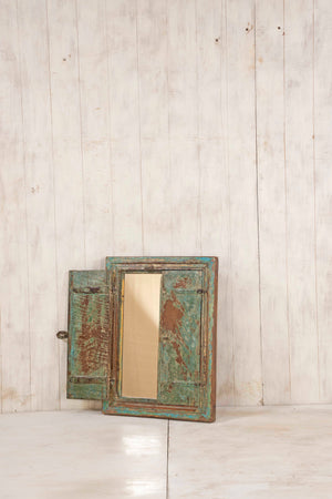 Load image into Gallery viewer, Wooden Window Mirror - Small No 343