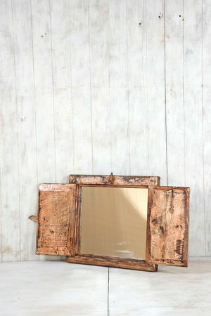 Load image into Gallery viewer, Wooden Window Mirror - Small No 345