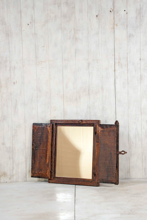 Load image into Gallery viewer, Wooden Window Mirror - Small No 348