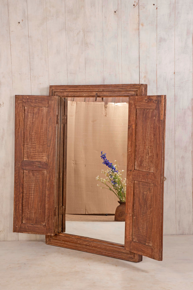 Load image into Gallery viewer, Wooden Window Mirror - Large No 34