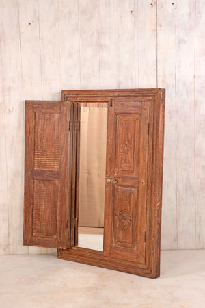 Wooden Window Mirror - Large No 34