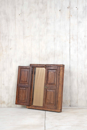 Wooden Window Mirror - Small No 355