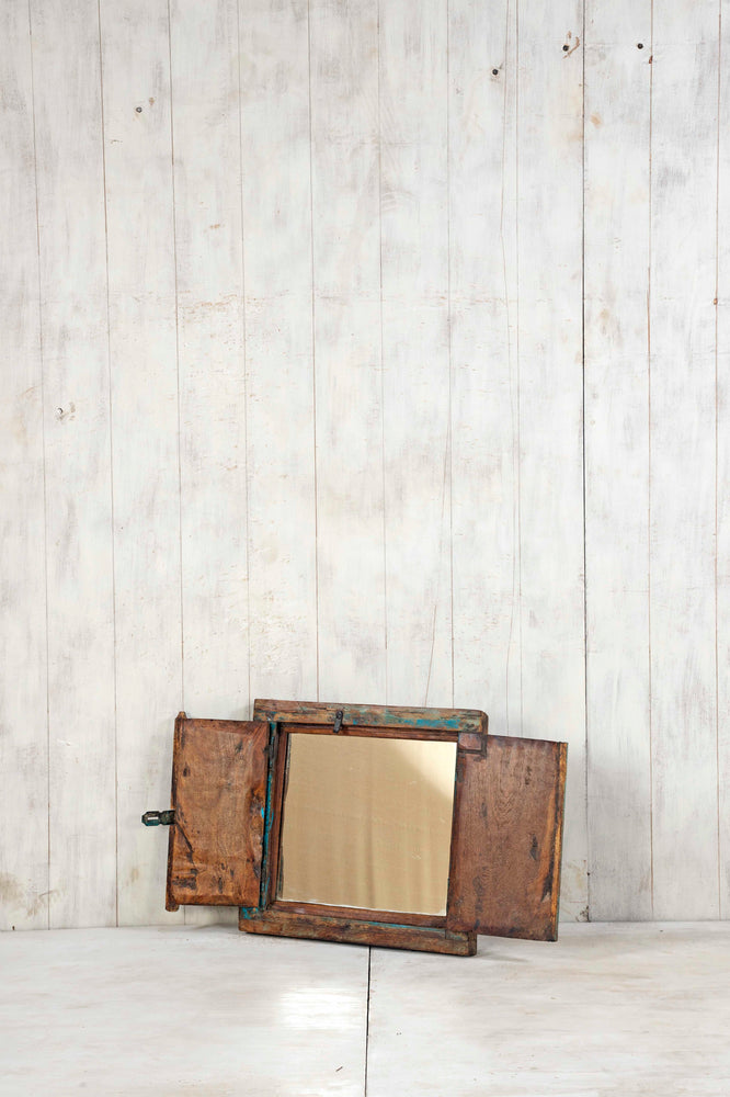 Load image into Gallery viewer, Wooden Window Mirror - Small No 359