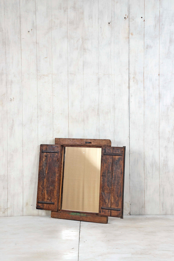 Wooden Window Mirror - Small No 364