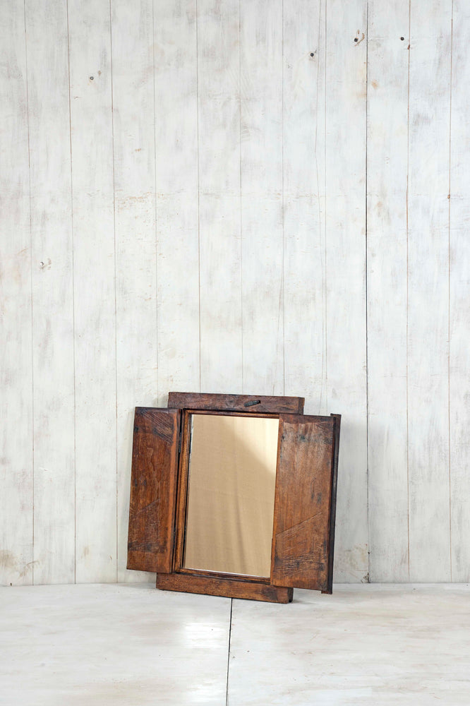 Wooden Window Mirror - Small No 365