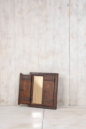 Wooden Window Mirror - Small No 368