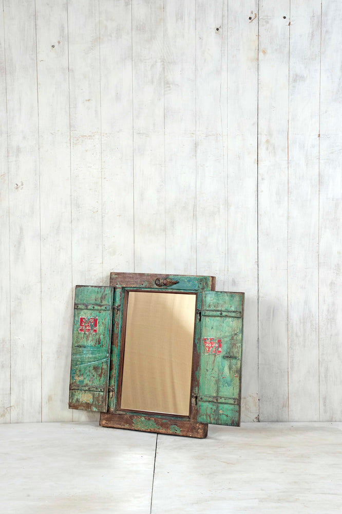 Wooden Window Mirror - Small No 370