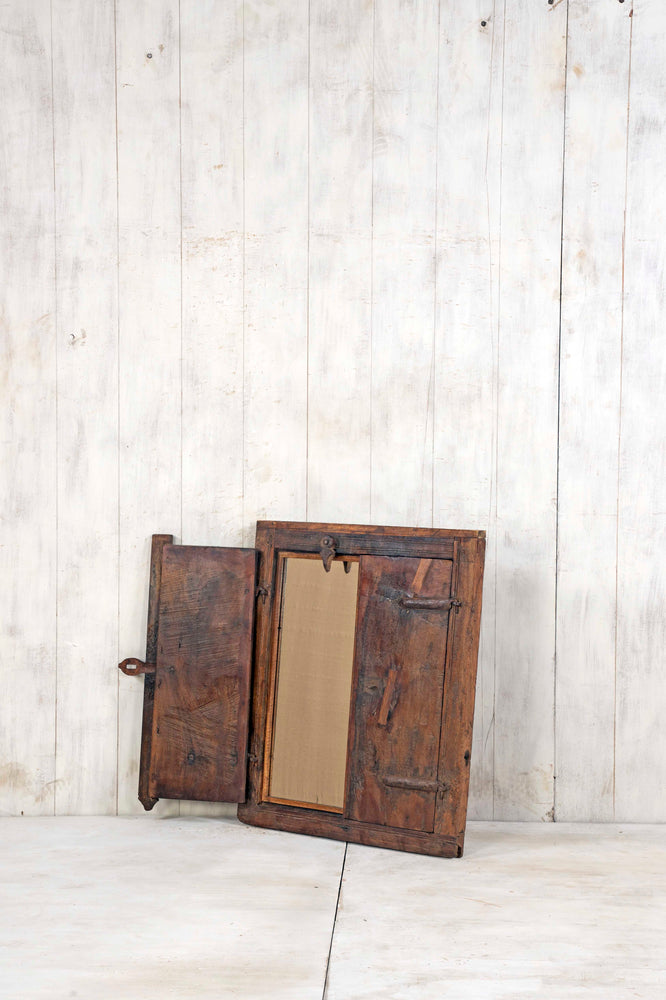 Wooden Window Mirror - Small No 375