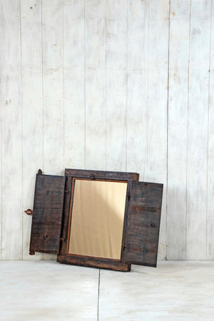 Wooden Window Mirror - Small No 378