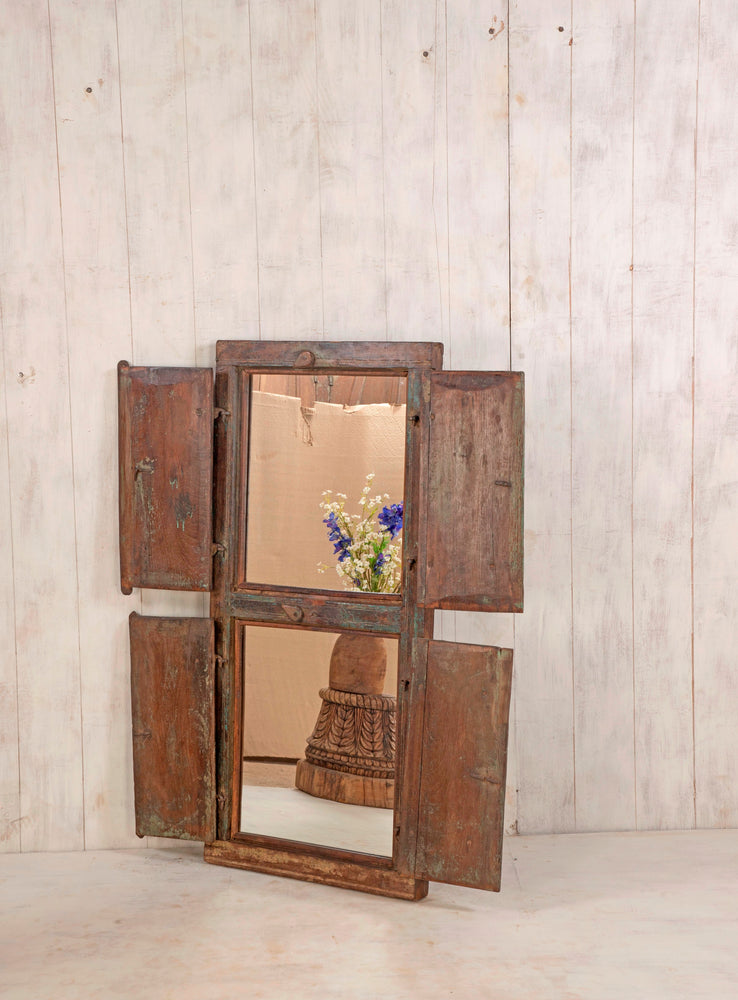 Wooden Window Mirror - Large No 37