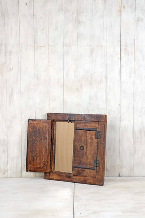 Wooden Window Mirror - Small No 380
