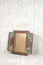 Wooden Window Mirror - Small No 382