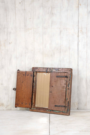 Load image into Gallery viewer, Wooden Window Mirror - Small No 383