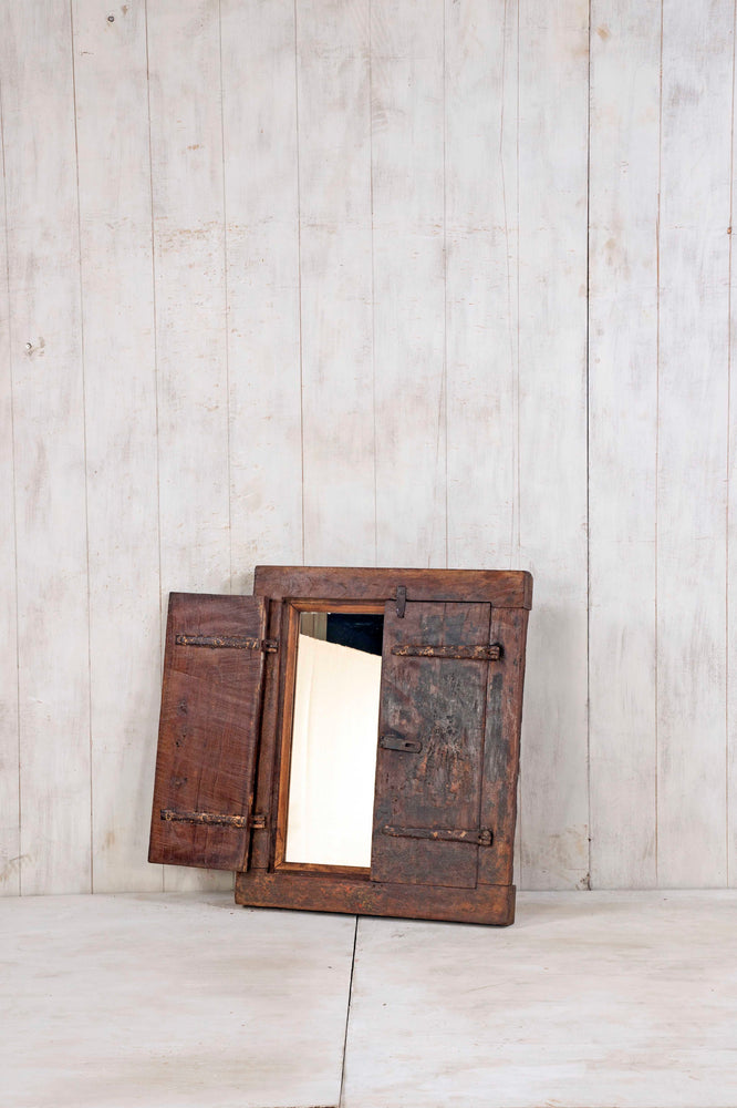 Wooden Window Mirror - Small No 384