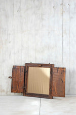 Wooden Window Mirror - Small No 386