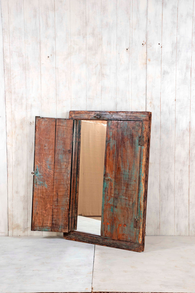Wooden Window Mirror - Large No 42