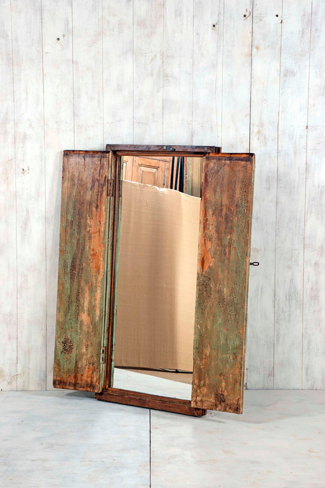 Wooden Window Mirror - Large No 44