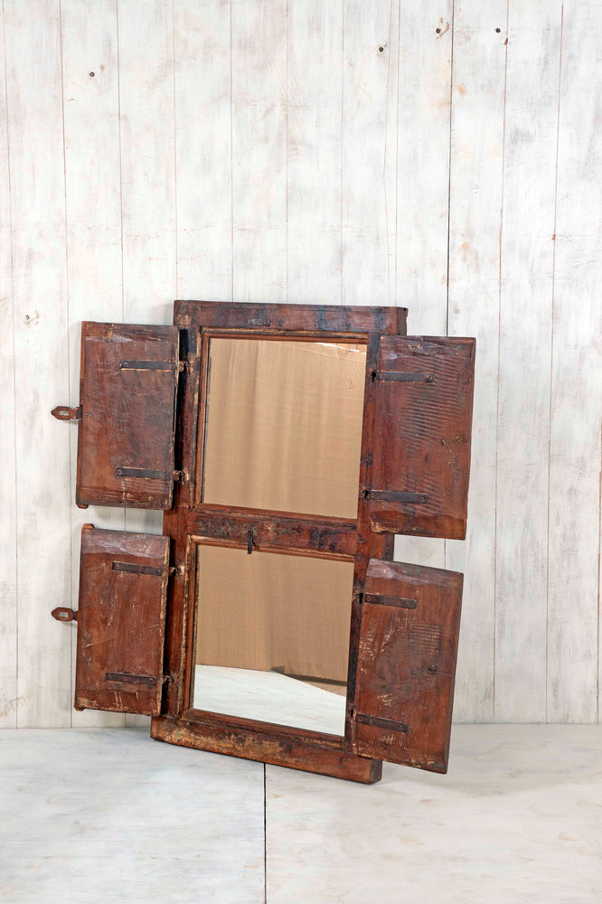Wooden Window Mirror - Large No 45