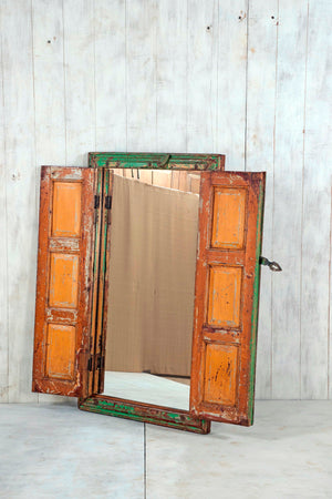 Wooden Window Mirror - Large No 46