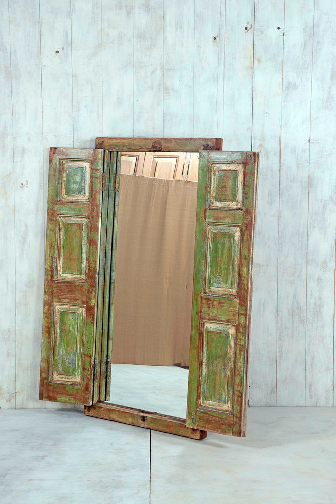 Wooden Window Mirror - Large No 50