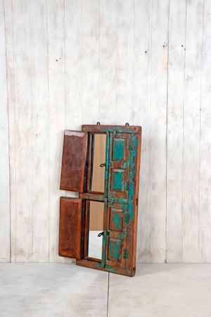 Wooden Window Mirror - Large No 56
