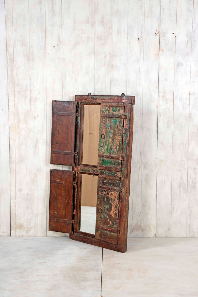Wooden Window Mirror - Large No 61